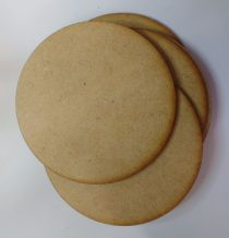 wooden coaster blanks 9cm  round MDF Pack of 10,25 or 50 crafts